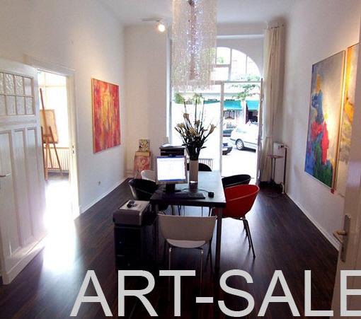 Kunstgalerie, Geschäftspartner, Start-Up Kunstgalerie