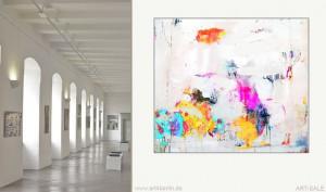 Galerie Berlin: Malerei aus Berlin. Moderne Kunst für Zuhause. Bilderkunst im Webshop.
